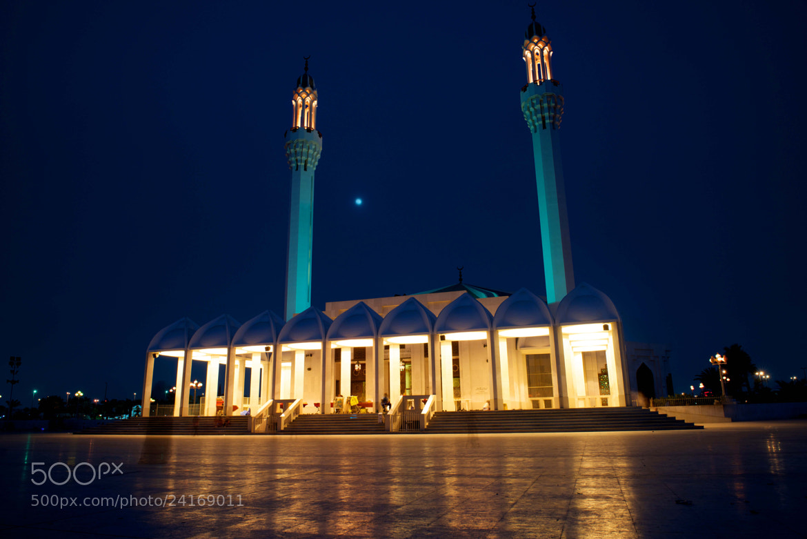 Photograph Mosque at night by Dany Eid on 500px