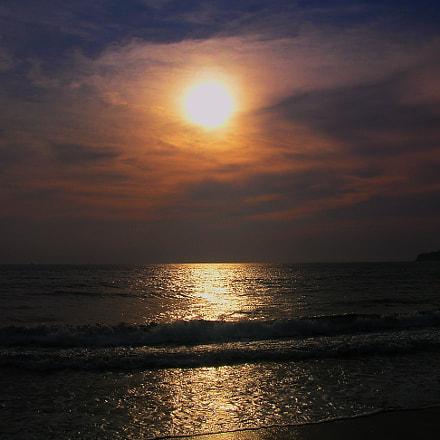 Sunset, Nikon E5100