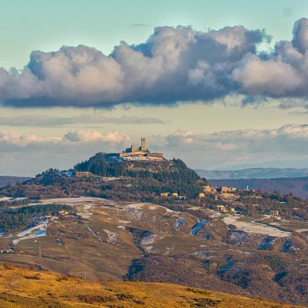 vista dal monte Amiata