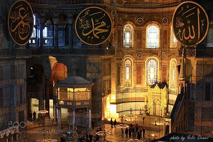 Photograph Hagia Sofia in Istanbul by Yeliz Sönmez on 500px