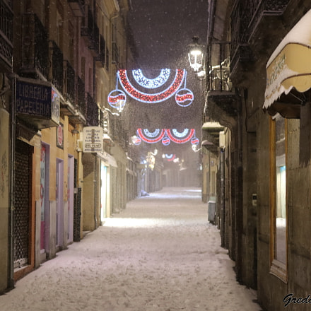 Temopral de nieve en, Canon EOS 80D