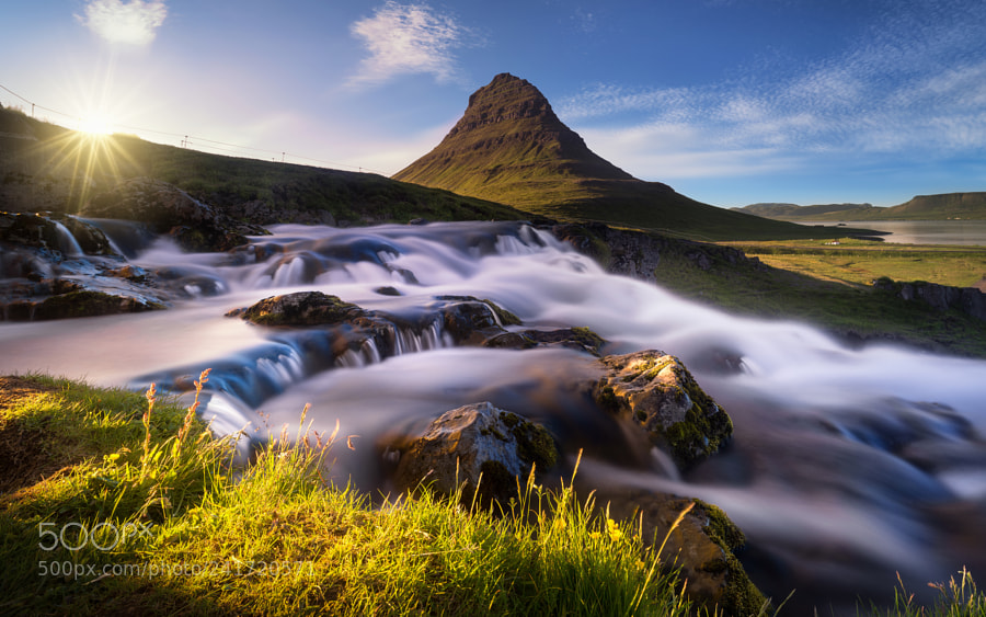 Kirkjufell in evening light