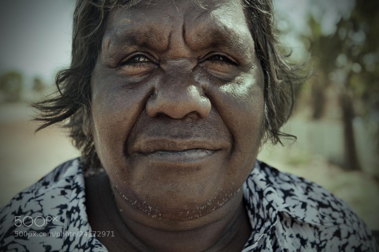 Photograph Aboriginal Portrait by Vincent Goddard on 500px