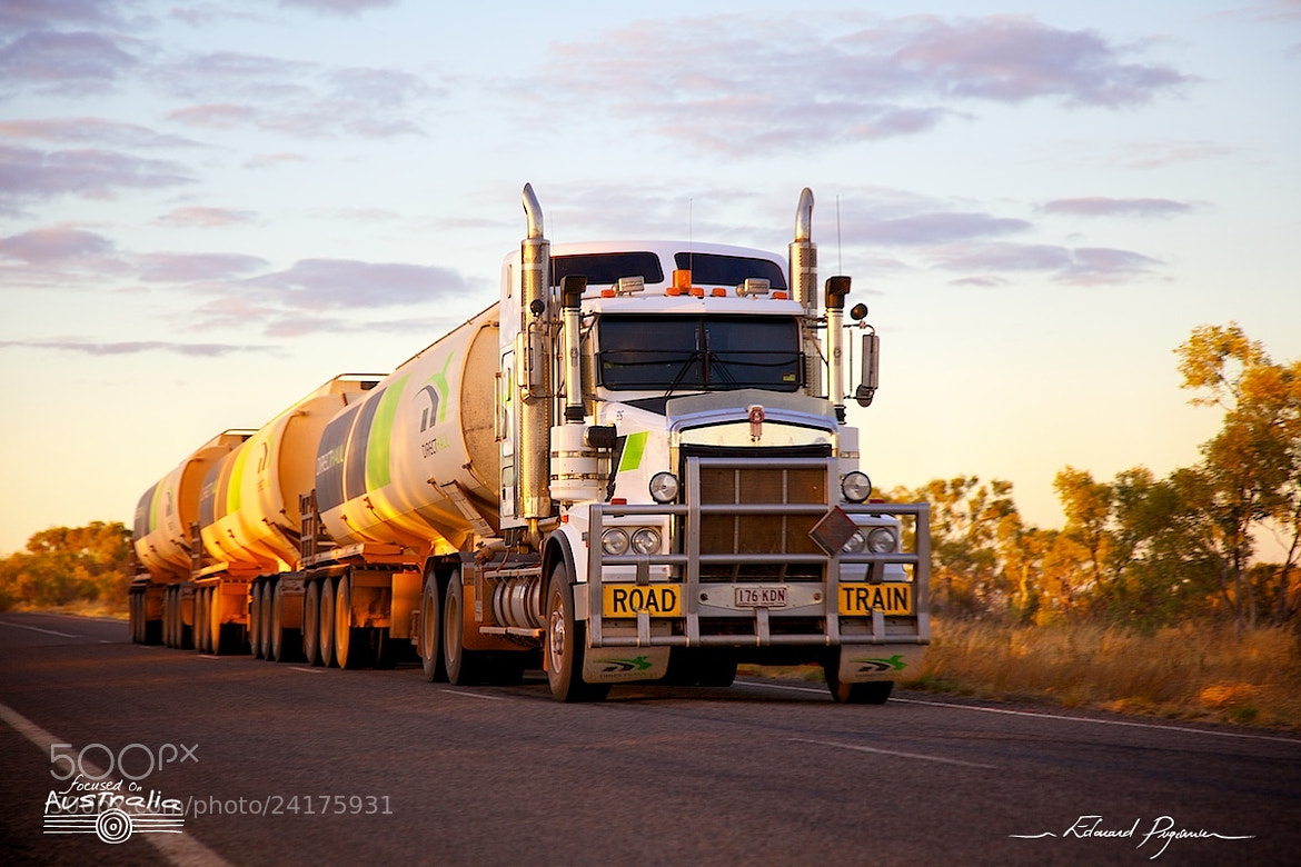 Photograph Kenworth Road Train by Édouard Puginier on 500px