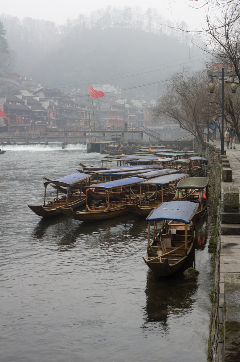 Photograph A Cluster of Boats in Fenghuang by JunLe Li on 500px