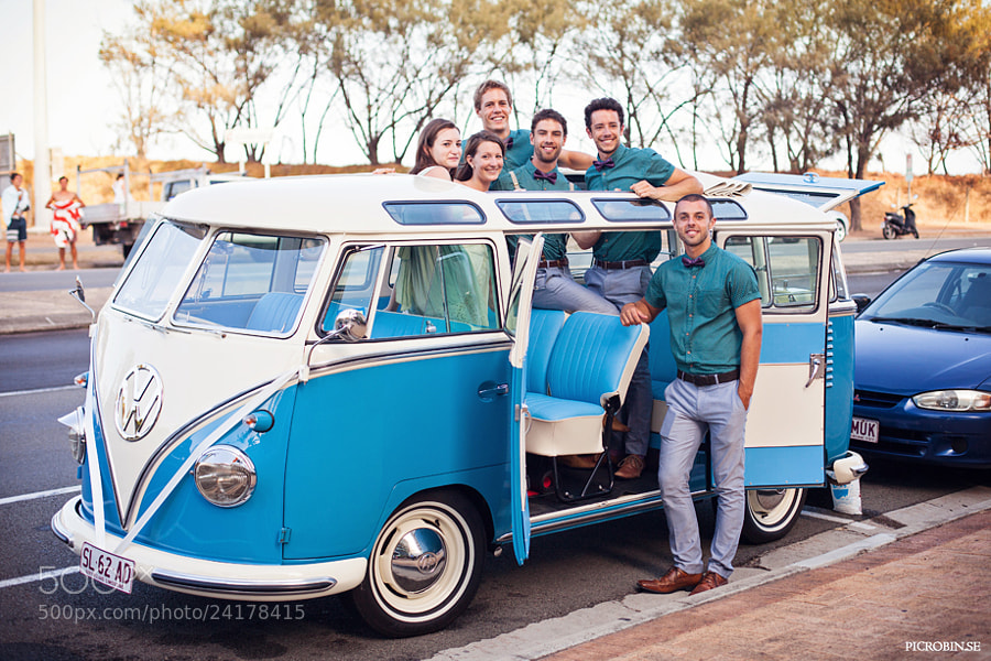 Photograph We love blue vans! by Robin Andersson on 500px