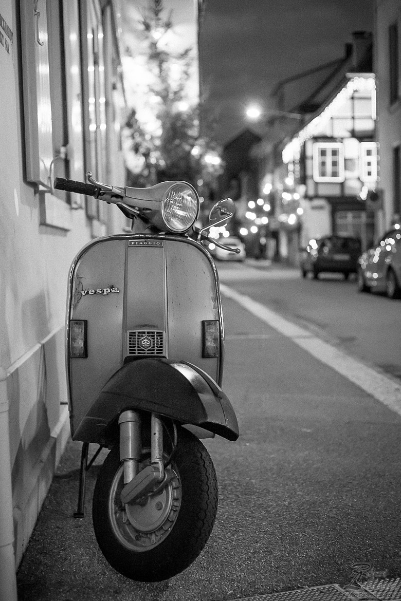 Photograph Vespa à Bâle by Rémi LEBLOND on 500px