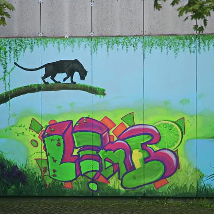 Street art  München, Canon EOS-1D MARK II, Canon EF 28-135mm f/3.5-5.6 IS