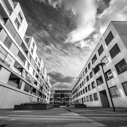 Luzern - Tribschen (district) No.2 b/w