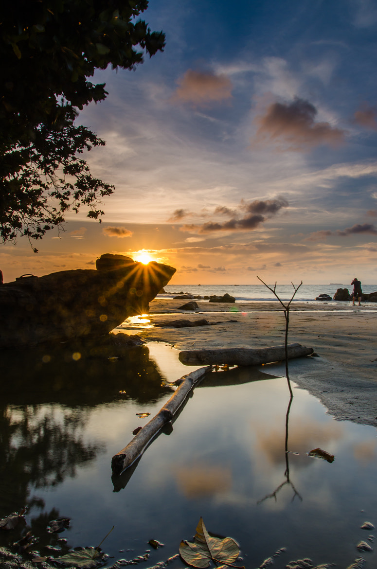 Photograph sunset behind the rock by Erwin Winn on 500px
