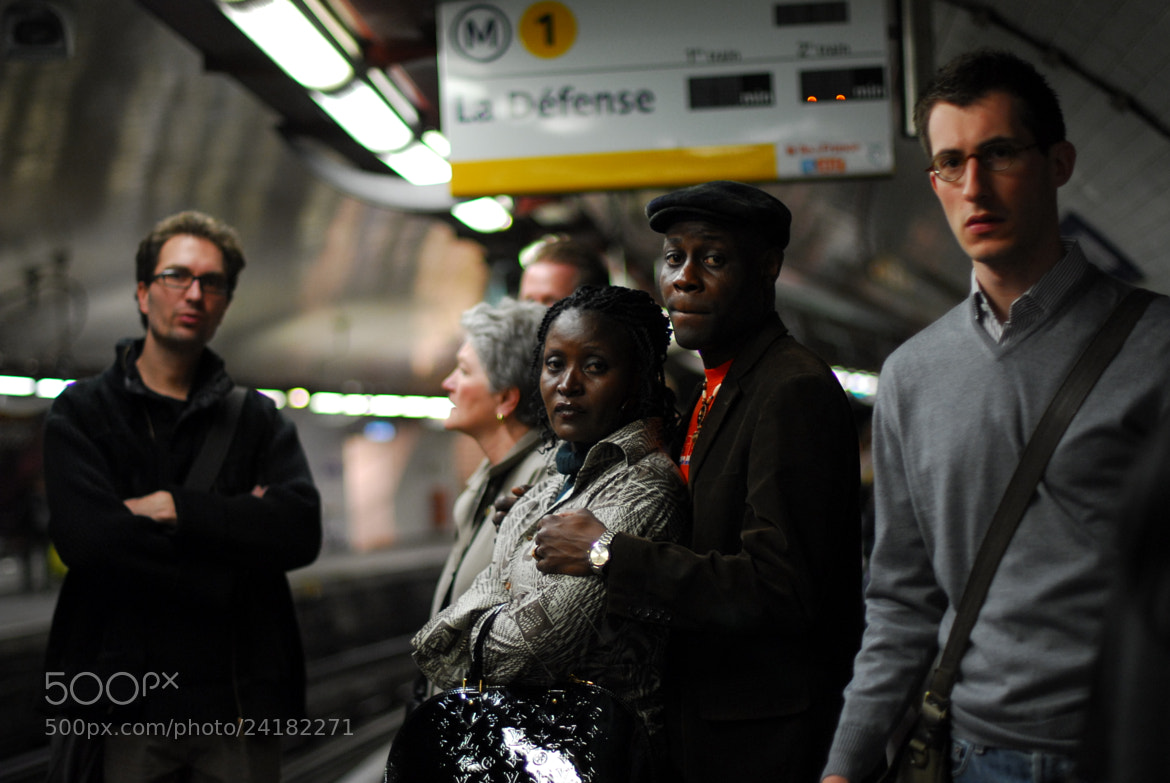 Photograph Waiting in the subway by Grazyna Letellier on 500px