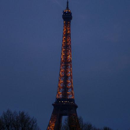 Torre Eiffel II, Sony DSC-W7
