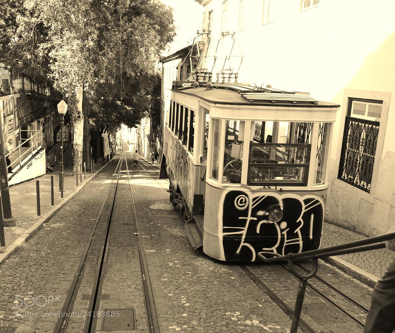 Photograph Lisbon Tram by Vânia Ragageles on 500px
