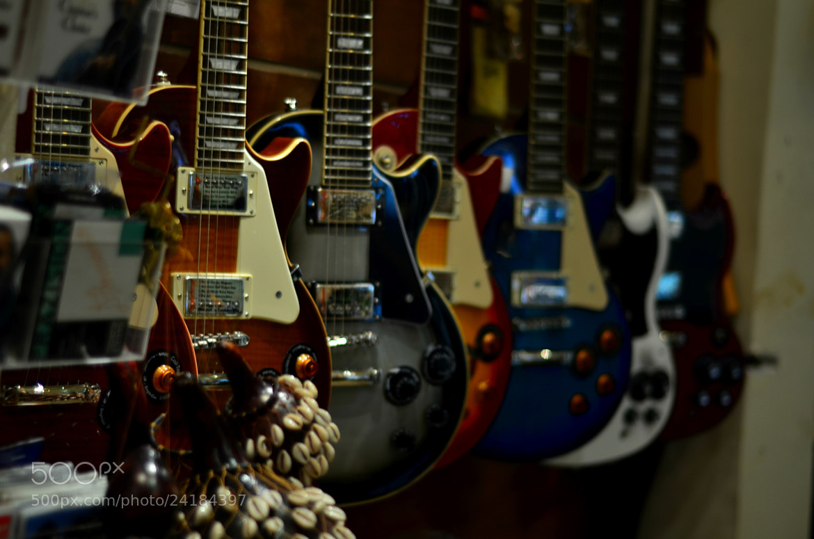 Photograph Select Your Guitar by Shishir Agrawal on 500px
