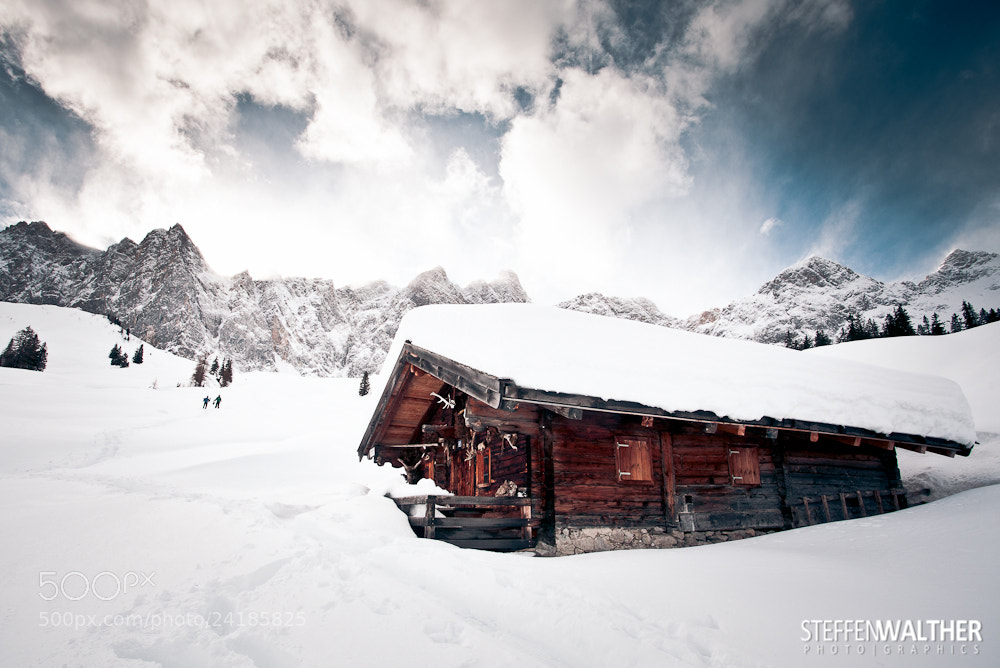 Photograph Karwendel Winter by Steffen Walther on 500px