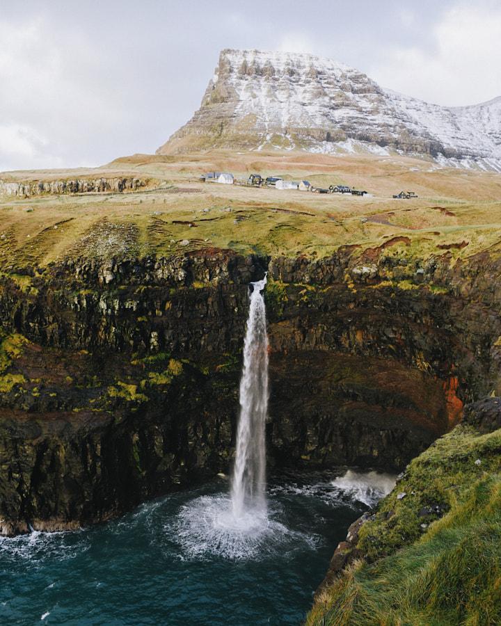 mulafossur. gasadalur. vagar. faroe islands. The s ... by Tanner Wendell Stewart on 500px