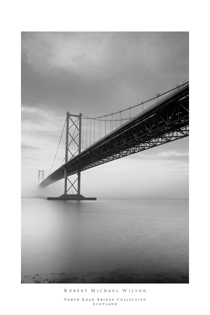 Photograph Forth Road Bridge Monochrome by Robert Michael Wilson on 500px