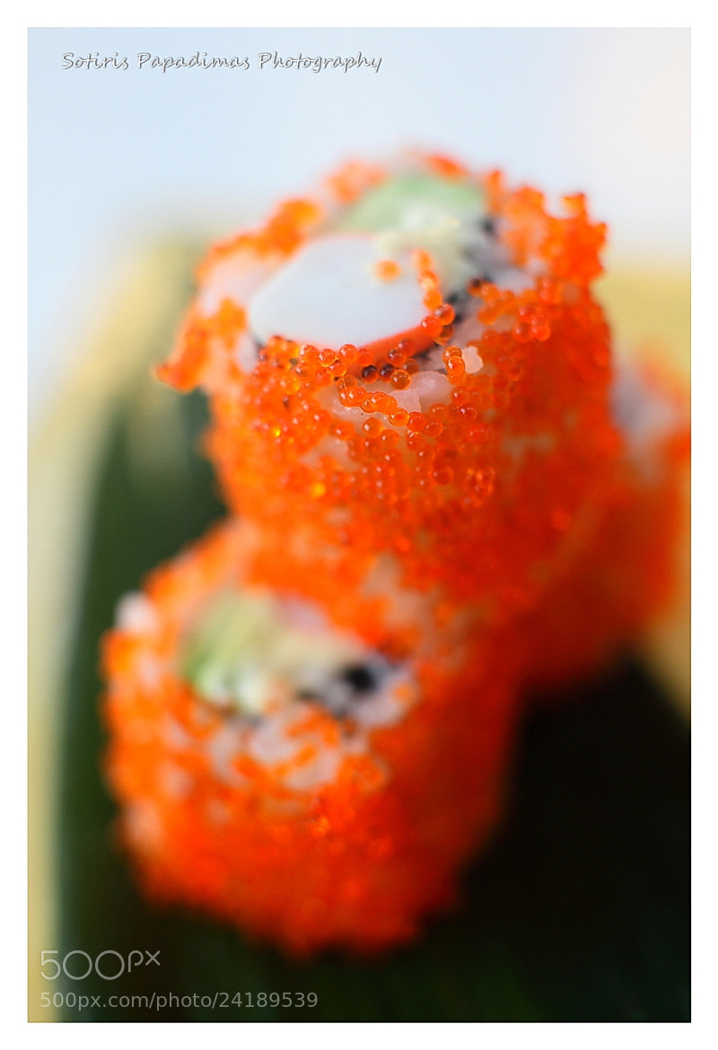 Photograph Sushi by Sotiris Papadimas on 500px