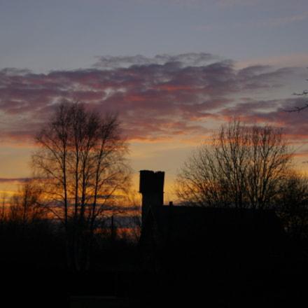 Sunset 04.01.2018 - 2, Pentax K-X, Tamron AF 18-250mm F3.5-6.3 Di II LD Aspherical [IF] Macro