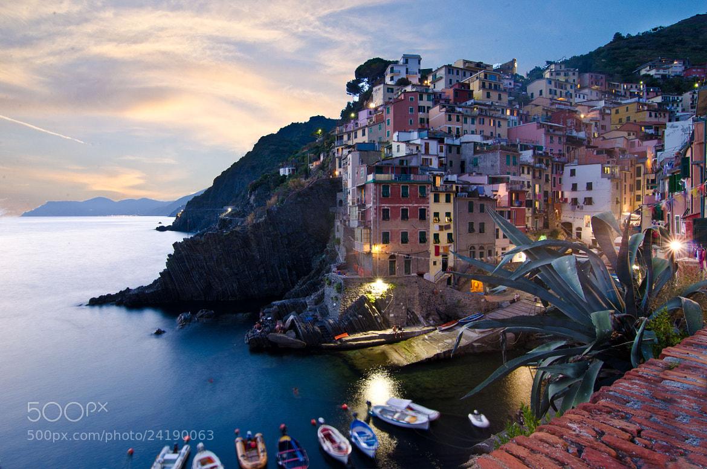 Photograph Twilight in Riomaggiore by Tatiana Fomina on 500px