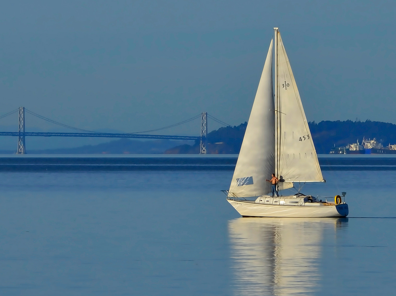 Photograph November Sail by Phyllis Plotkin on 500px
