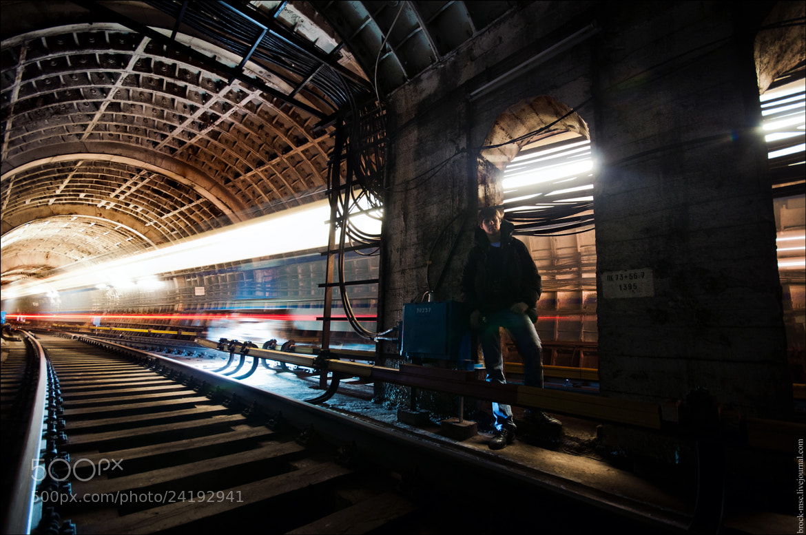 Photograph Hacking Subway  by George Lanchevsky on 500px