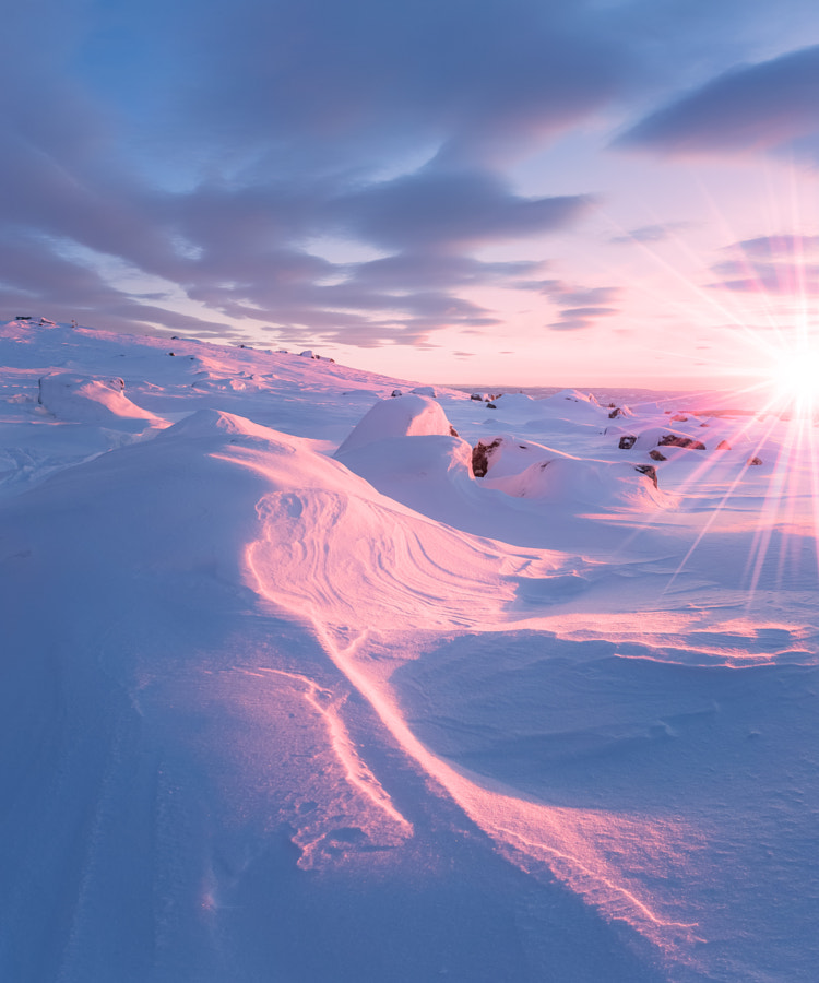 ice, wind and fire by Jørn Allan Pedersen
