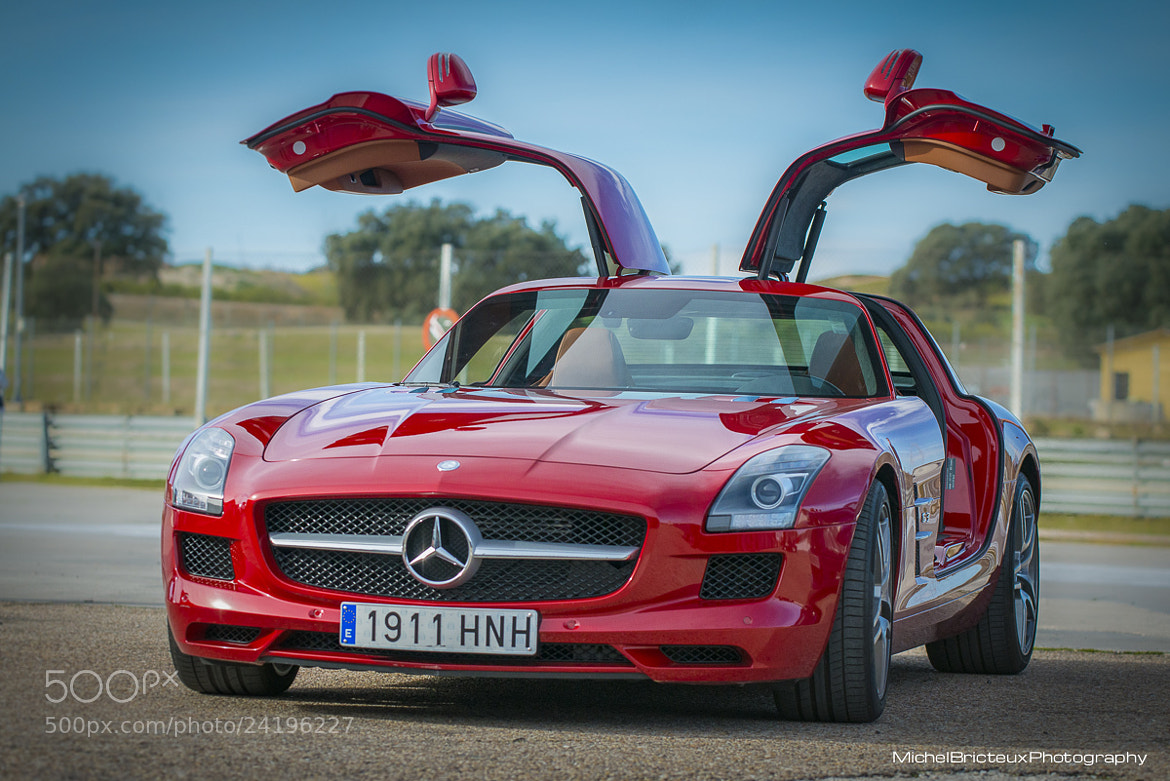 Photograph Mercedes-Benz SLS AMG GT by Michel Bricteux on 500px