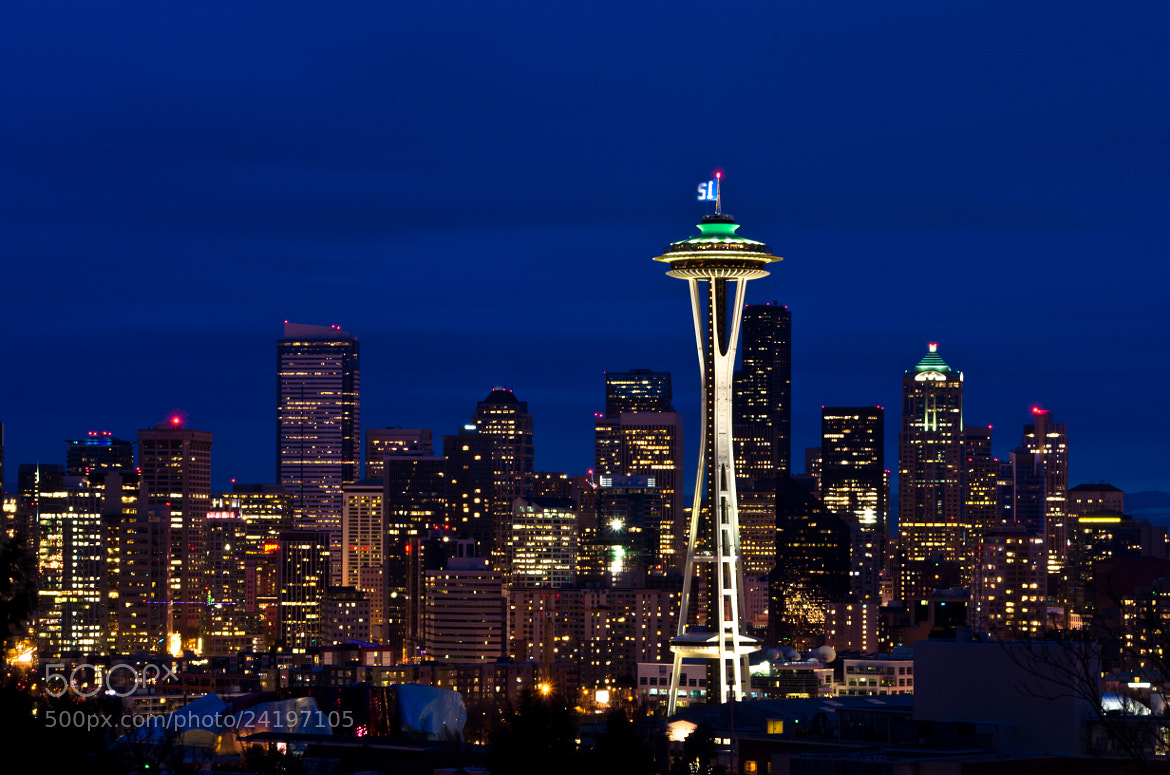 Photograph Seattle by Michael Camilleri on 500px