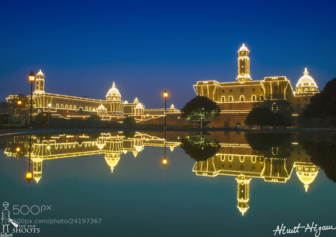 Photograph North And South Block... by Nimit Nigam on 500px