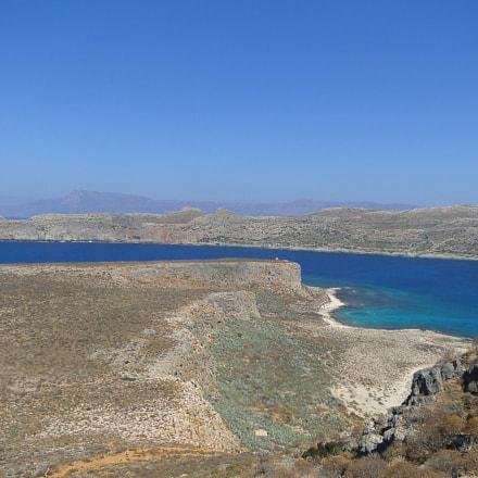 Crete coast, view of, Sony DSC-HX1