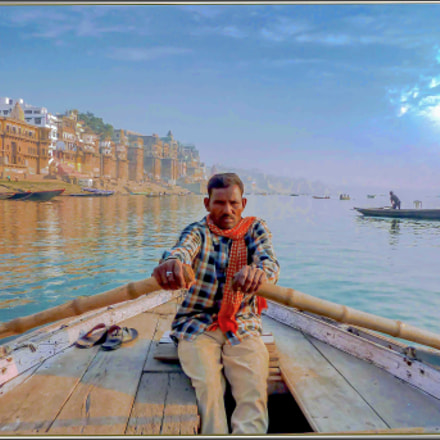 view of Ganges, Panasonic DMC-TZ7