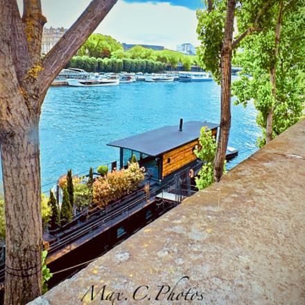 Bord de Seine, Fujifilm FinePix SL260