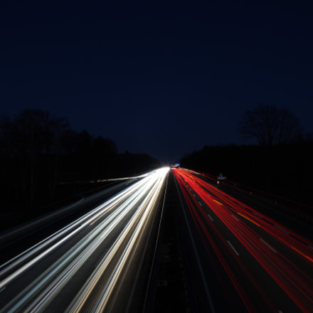 The German Autobahn, Canon EOS 1300D, Sigma 17-35mm f/2.8-4 EX DG Aspherical HSM