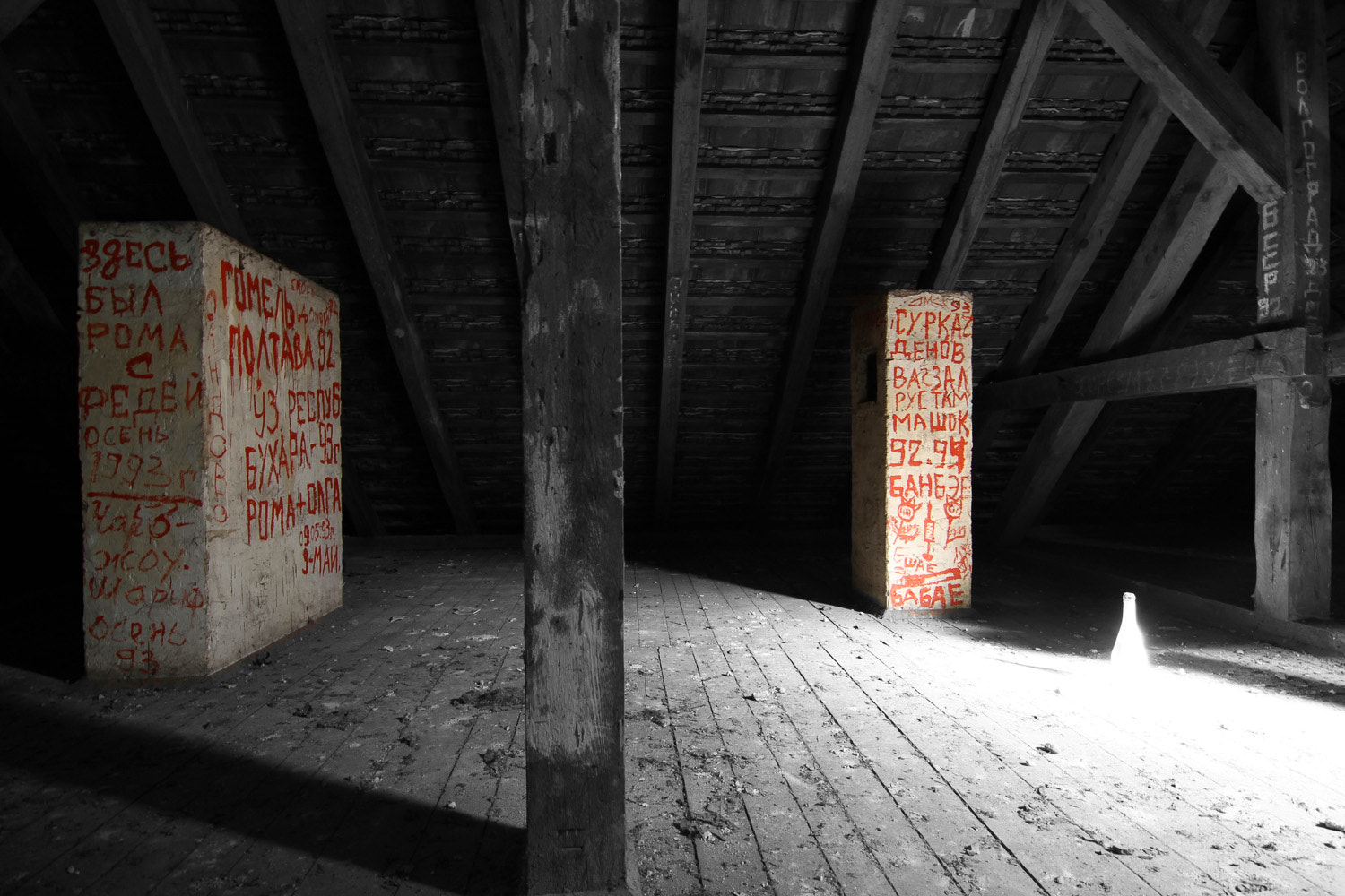 Photograph In the attic by Matthias Photography on 500px