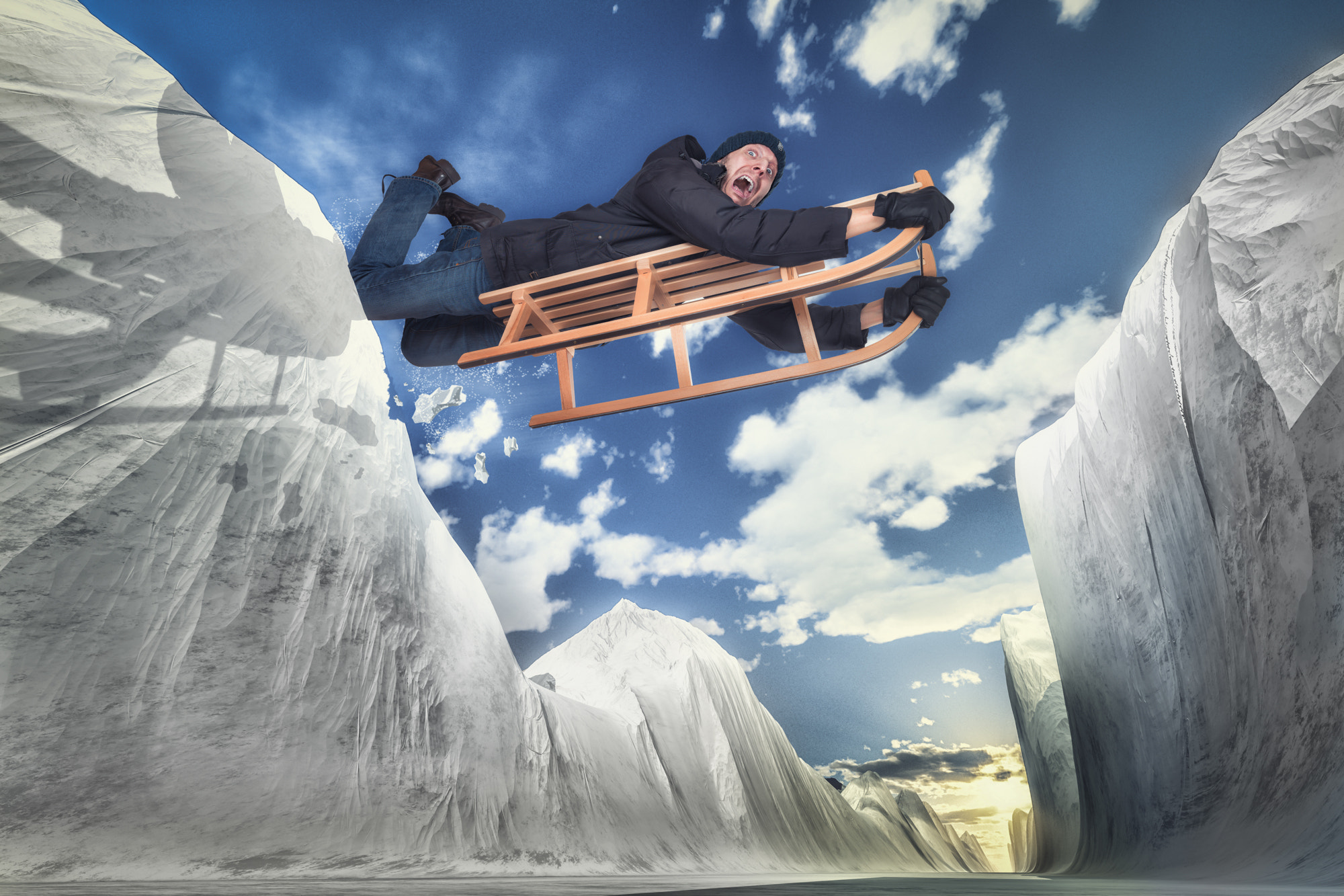 Photograph Extreme Tobogganing by John Wilhelm is a photoholic on 500px