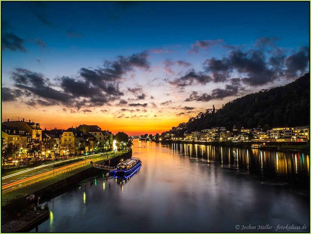 Photograph Heidelberg @night, novel by Jochen Müller on 500px