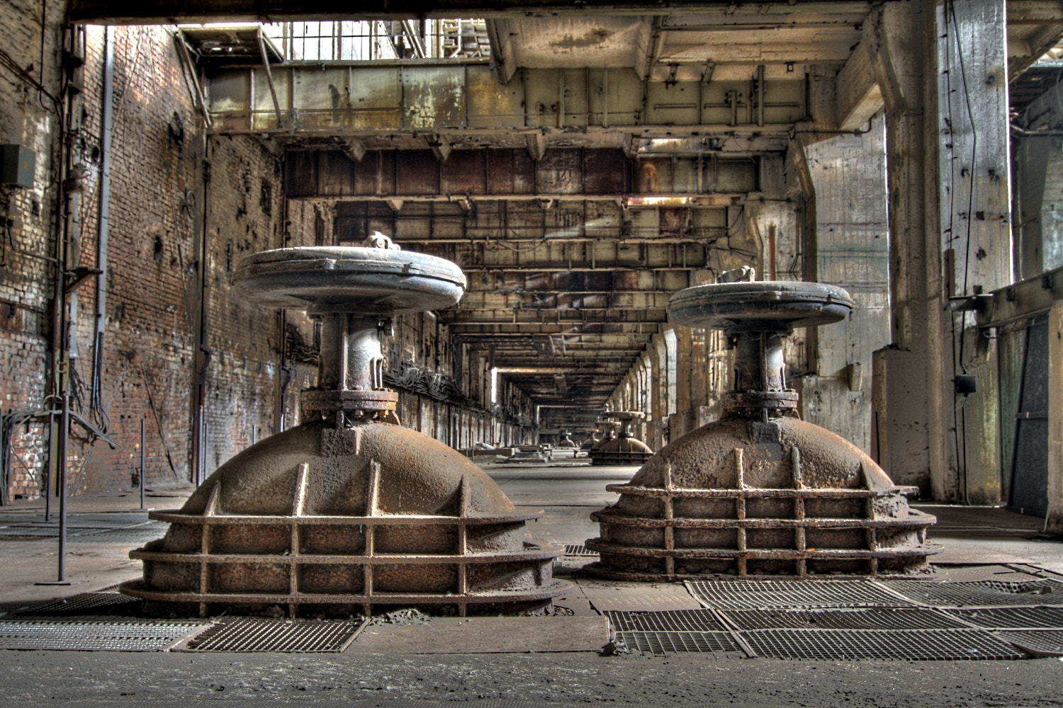 Photograph Derelict factory hall by Matthias Photography on 500px