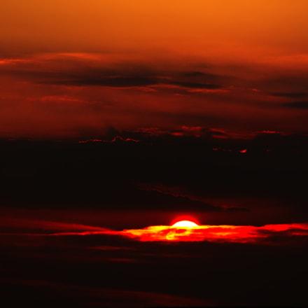 Fire In The Sky, Sony NEX-5N, Sony E 55-210mm F4.5-6.3 OSS