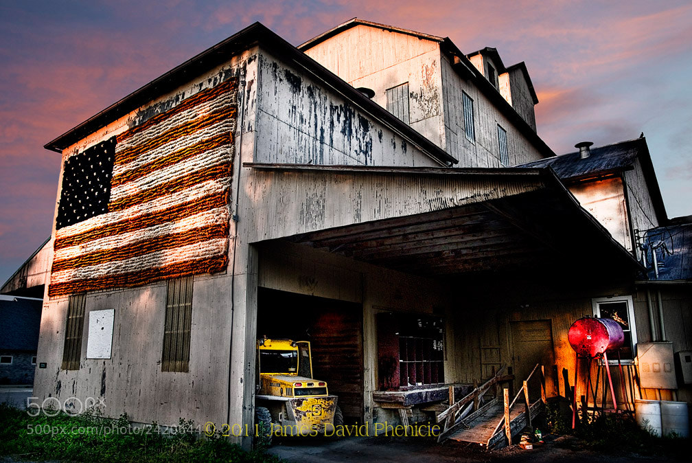 Photograph American Flag by James David Phenicie on 500px