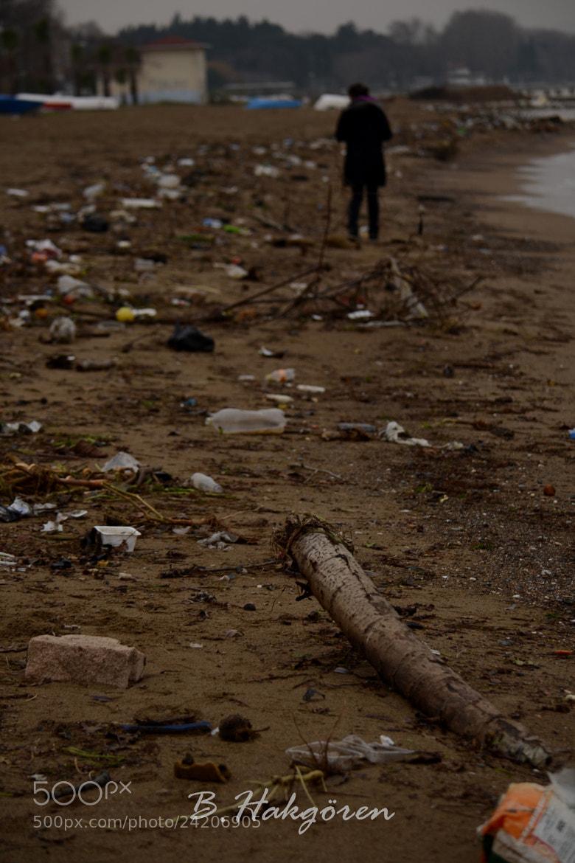 Photograph Alone at Dirty Beach by Büşra Hakgören on 500px