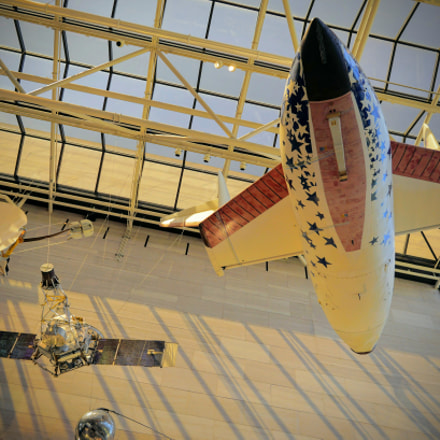 National Air & Space Museum, Sony ILCE-6300, Sigma 19mm F2.8 [EX] DN