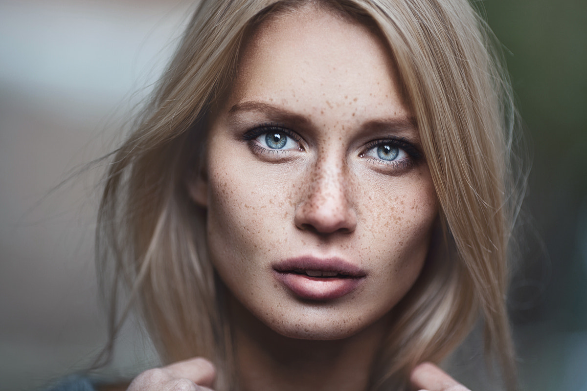 Photograph Freckle by Pavel Lepeshev on 500px