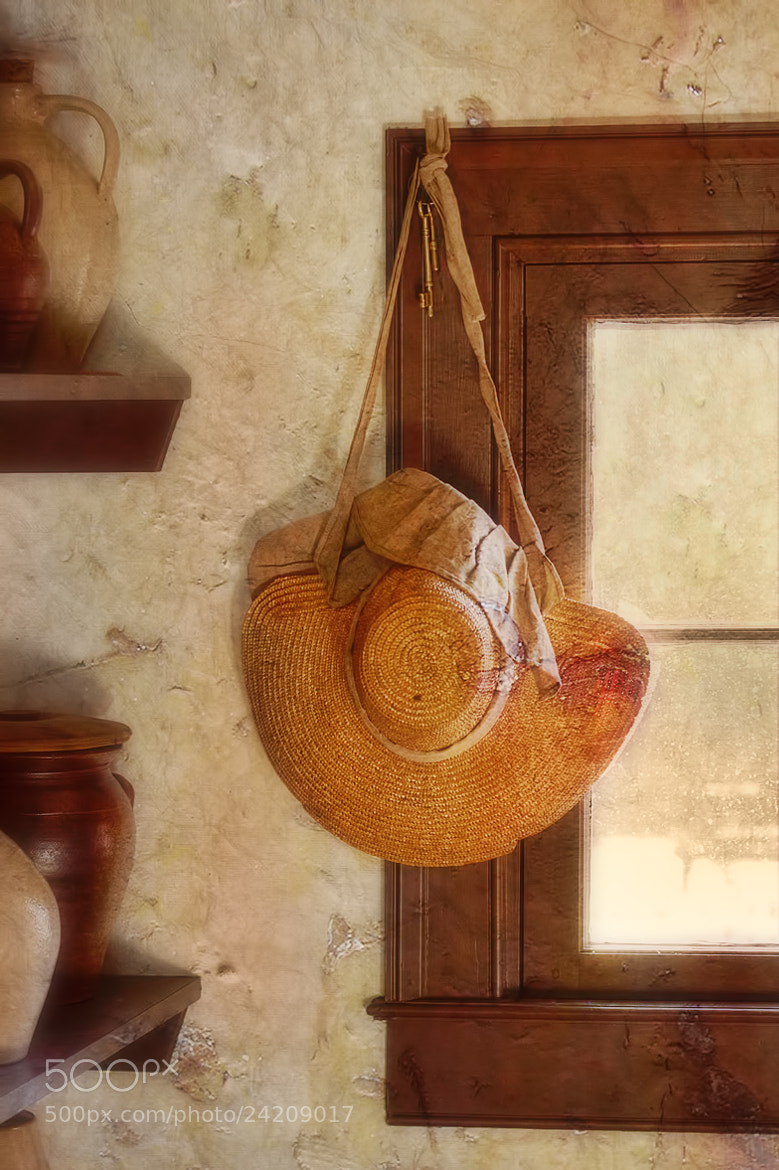 Photograph Anyplace I Hang My Hat is Home by Sharon Smith on 500px