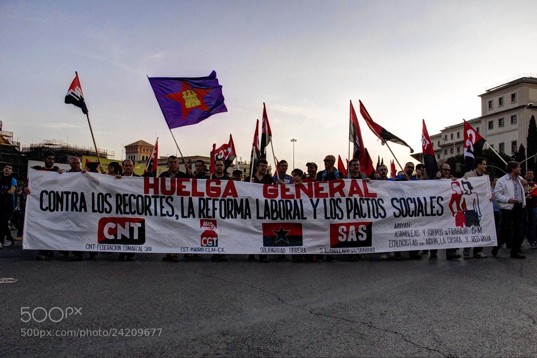 Photograph Manifestacion by Miguel Parreño Martinez on 500px