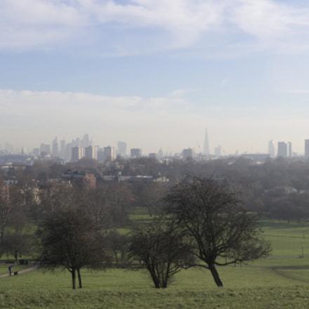 Foggy London Morning, Nikon D500, AF Nikkor 24mm f/2.8D