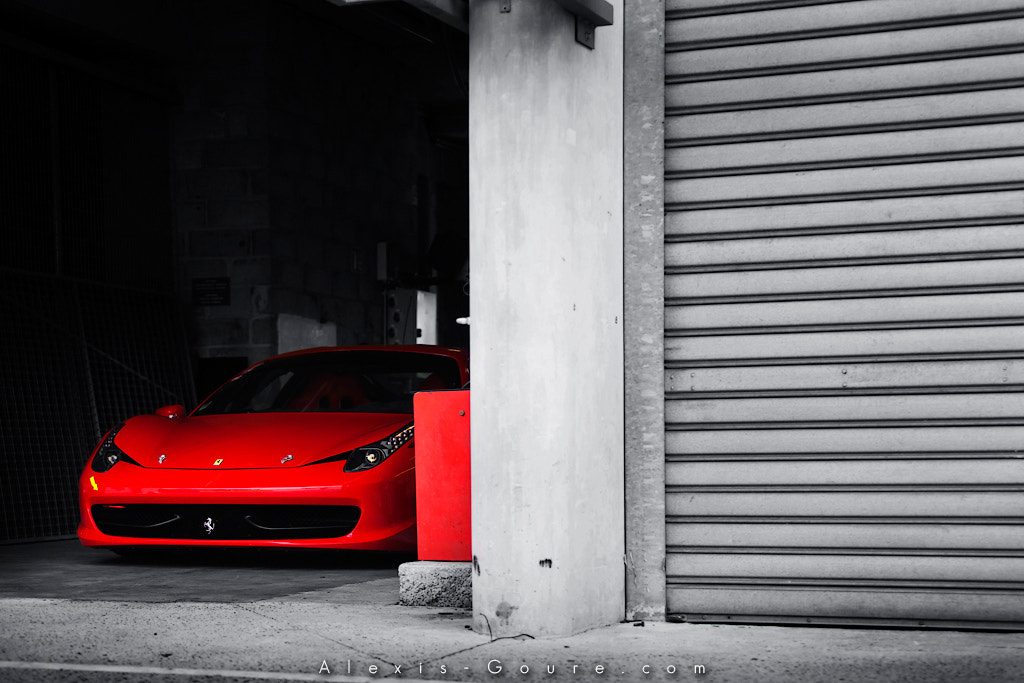 Photograph Ferrari 458 by Alexis Goure on 500px