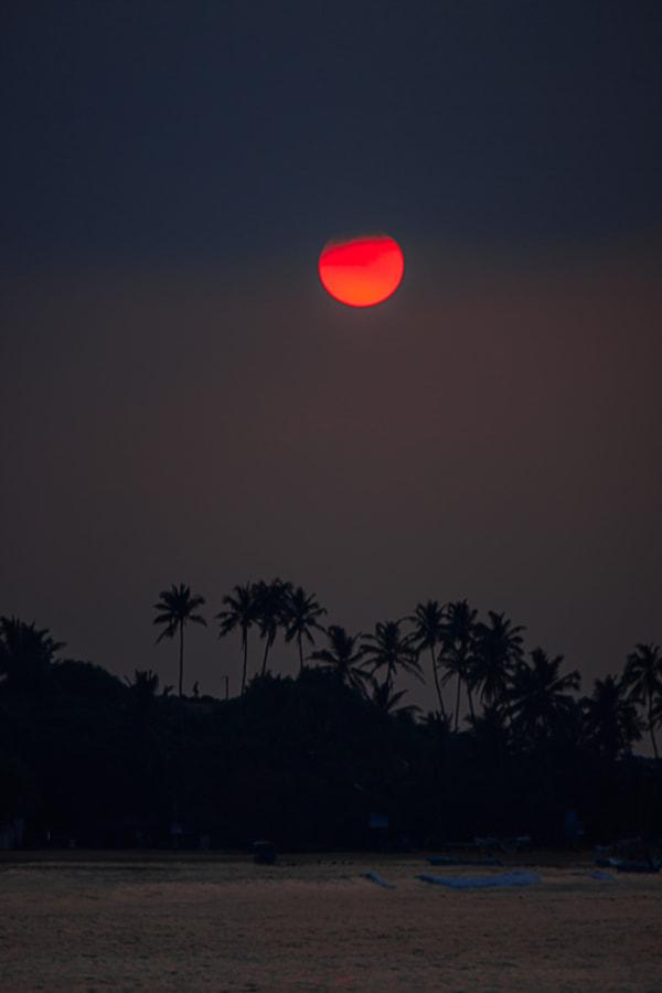 Sunset Over Unawatuna Bay, Sri Lanka #6 by Son of the Morning Light on 500px.com