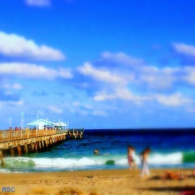 Photograph Fort Lauderdale Pier Soft Focus by Robin Sing-Cunningham on 500px