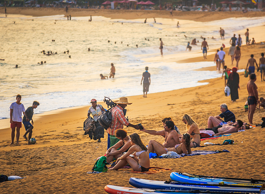 Unawatuna Beach, Sri Lanka, in the Afternoon #1 by Son of the Morning Light on 500px.com